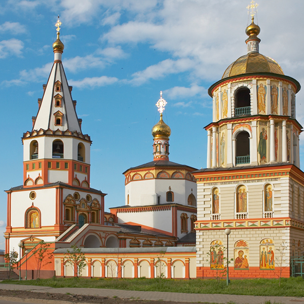 The Epiphany Cathedral in Irkutsk