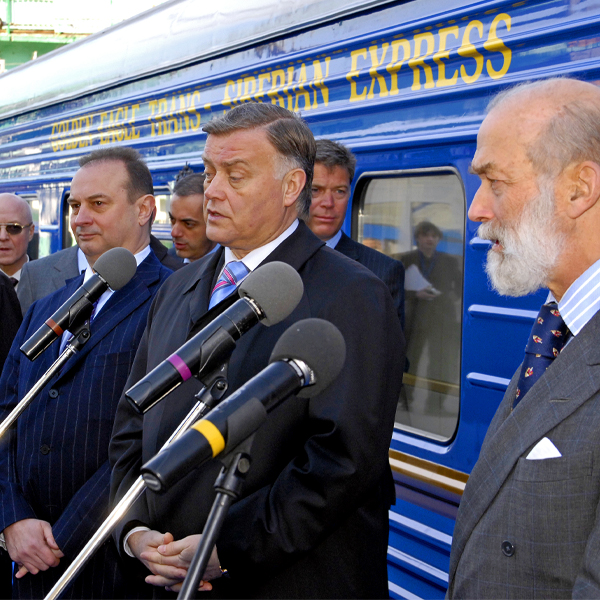 A presentation of the Golden Eagle train