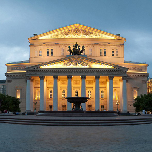 The Bolshoi Theatre in Moscow