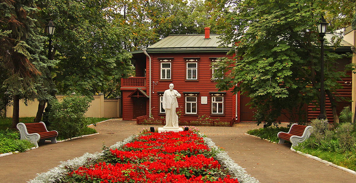 The Lenin memorial house in Kazan