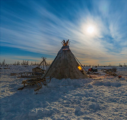 A journey to the Russian North, into the Arctic Circle